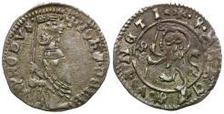 World Coins - Italy. Venice. Giovanni Dolfin (1356-1361) AR Soldino