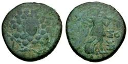 Ancient Coins - Pontos. Amisos Æ22 / Aegis & Nike