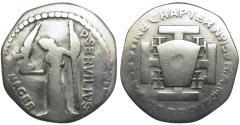 World Coins - Masonic Token. Palestine Chapter 159. Detroit, Michigan