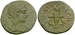 Ancient Coins - Caria. Antiocheia ad Maeander. Pseudo-autonomous Æ26 / Artemis Ephesia