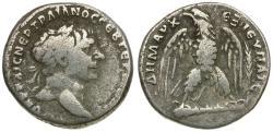 Ancient Coins - Trajan (AD 98-117). Phoenicia. Tyre AR Tetradrachm / Eagle