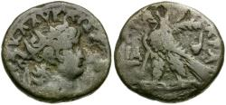 Ancient Coins - Nero. Egypt. Alexandria BI Tetradrachm / Eagle
