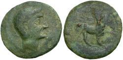 Ancient Coins - Spain. Castulo. Anonymous Æ AS / Sphinx