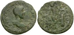 Ancient Coins - Hostilian as Caesar. Cilicia. Anazarbos Æ22 / Apollo