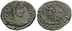 Ancient Coins - Constantius II, as Augustus (AD 337-361) Æ3 / Galley