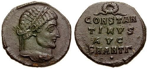 Ancient Coins - choiceEF Constantine I The Great Anepigraphic Æ3