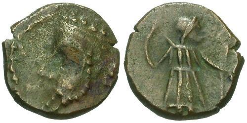 Ancient Coins - VF/VF Elymais Unknown King / Artemis