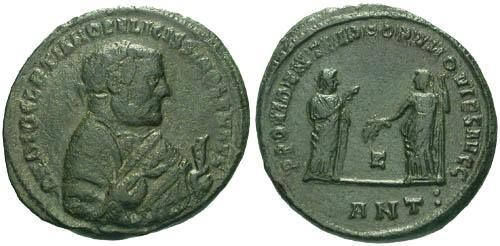 Ancient Coins - aVF/aVF Diocletian Abdication Follis