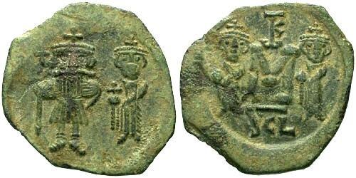 Ancient Coins - EF/EF Constans II Follis Syracuse Mint