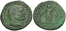 Diocletian Æ Follis / Genius