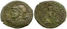 Ancient Coins - Maxentius as Augustus Æ Half Follis / Failmezger Plate Coin