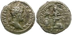 Ancient Coins - Septimius Severus (AD 193-211) AR Denarius / Victory