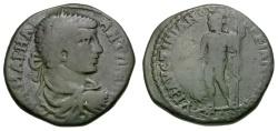 Ancient Coins - Caracalla.  Moesia. Marcianopolis. Governor Julius Faustianus Æ26 / Zeus