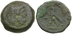Ancient Coins - Ptolemaic Kings of Egypt. Ptolemy VI Philometor (180-145 BC) Æ Obol / Eagle