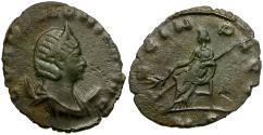Ancient Coins - Salonina Æ Antoninianus / AVG IN PACE