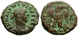 Ancient Coins - Probus, Egypt Alexandria Æ Tetradrachm / Eagle