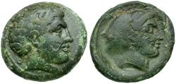 Ancient Coins - Thessaly. Phalanna Æ Trichalkon / Nymph