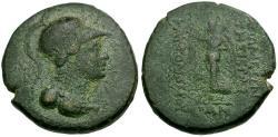 Ancient Coins - Seleucis and Pieria. Apameia Æ21 / Nike