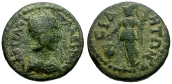 Ancient Coins - Tranquillina, Wife of Gordian III.  Pamphylia, Side / Athena