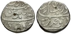 Ancient Coins - India. Mughal Empire. Aurangzeb (AH 1068-1118 / 1658-1707 AD) AR Rupee