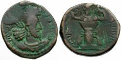 Ancient Coins - Kushano-Sasanians. Ohrmazd (Hormizd) I Kushanshah Æ Unit / Fire Altar