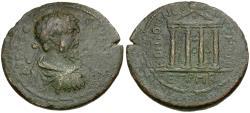 Ancient Coins - Septimius Severus (AD 193-211). Pontos. Neocaesarea Æ33 / Temple