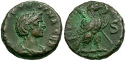 Ancient Coins - Severina (AD 270-275). Egypt. Alexandria Æ Tetradrachm / Eagle