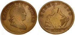 World Coins - Ireland Æ Halfpenny Token