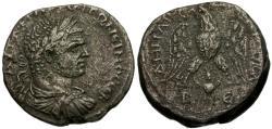 Ancient Coins - Caracalla. Cyrrhestica. Beroea AR Tetradrachm / Eagle