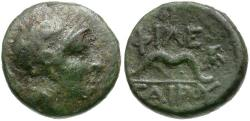 Ancient Coins - Mysia. Kings of Pergamon. Philetairos Æ12 / Bow