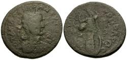 Ancient Coins - Otacilia Severa, Wife of Philip I, Cilicia Tarsos Æ31 / Athena