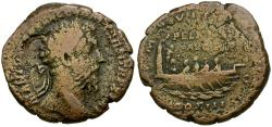 Ancient Coins - Marcus Aurelius (AD 161-180) Æ AS / Neptune in Galley