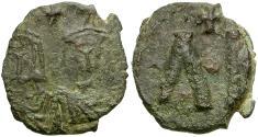 Ancient Coins - *Sear 1635* Byzantine Empire. Leo V the Armenian Æ 40 Nummi