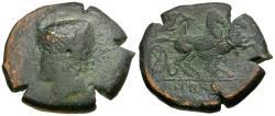 Ancient Coins - Samnium. Aesernia Æ22 / Vulcan