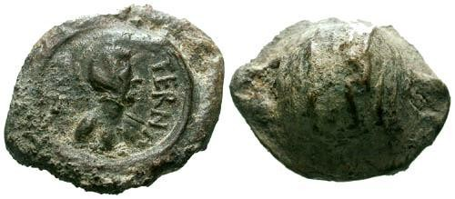 Ancient Coins - Roman Commercial Lead Seal