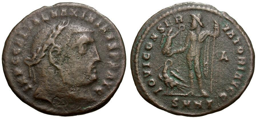 Ancient Coins - Maximinus II.   Æ Follis / Jupiter