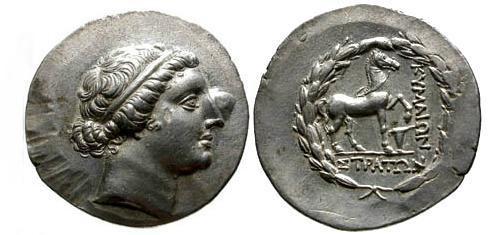 Ancient Coins - EF/EF Aiolis Kyme AR Tetradrachm / Horse