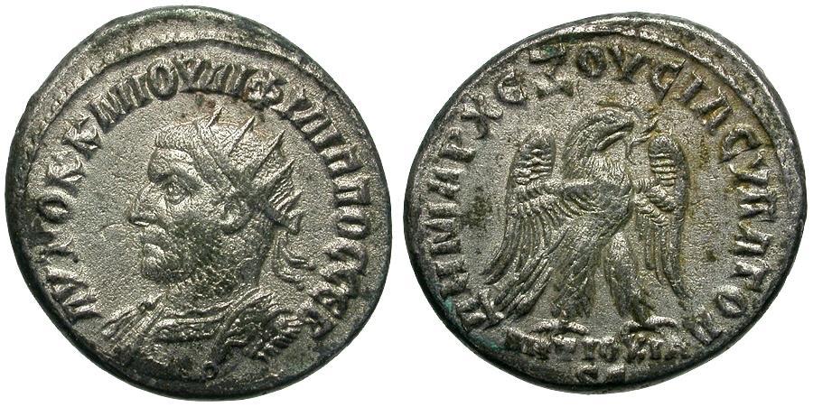 Ancient Coins - Philip I (AD 244-249). Seleucia and Pieria. Antioch AR Tetradrachm