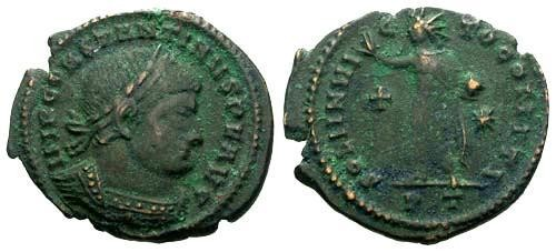Ancient Coins - aVF/aVF Constantine the Great / Sol