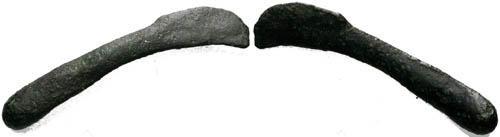 Ancient Coins - Olbia Sarmatia Thrace Cast Bronze Dolphin Coinage