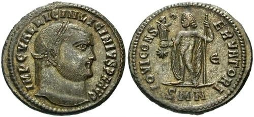 Ancient Coins - gVF/EF Licinius Follis / Unlisted in RIC