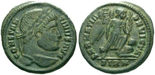 Ancient Coins - aVF/VF Constantine the Great / Victory