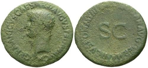 Ancient Coins - F Germanicus AS / SC
