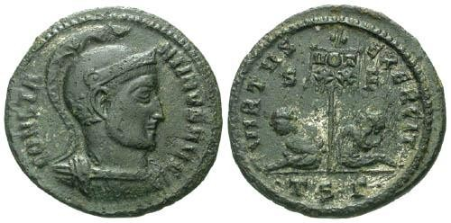 Ancient Coins - VF/VFConstantine I the Great / Two captives