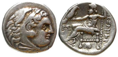 Ancient Coins - aVF/aVF Alexander III the Great AR Drachm