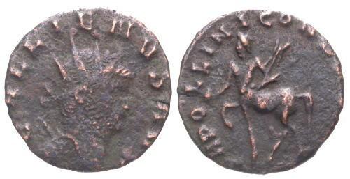Ancient Coins - F/VF Gallienus AE Antoninianus / Centaur