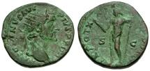Ancient Coins - Antoninus Pius Æ Dupondius / Jupiter