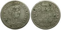 World Coins - Germany. Brandenburg. Friedrich Wilhelm the Great AR 1/3 Taler