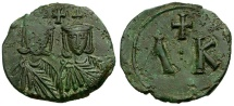 Byzantine Empire. Leo V the Armenian Æ 40 Nummi