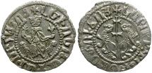 World Coins - Kings of Cilician Armenia. Levon I AR Tram